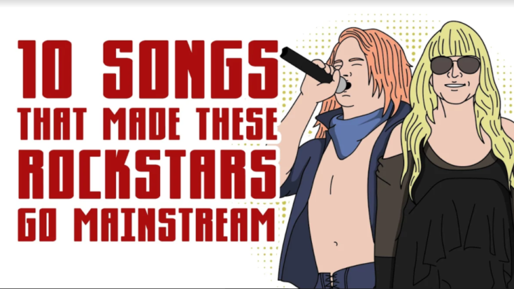 10 Songs That Made These Rockstars Go Mainstream | I Love Classic Rock Videos