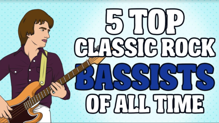5 Top Classic Rock Bassists of All Time | I Love Classic Rock Videos