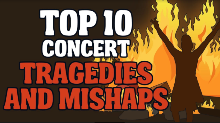 Top 10 Concert Tragedies and Mishaps | I Love Classic Rock Videos