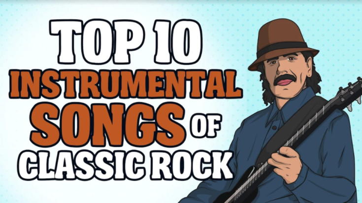 Top 10 Instrumental Songs of Classic Rock | I Love Classic Rock Videos
