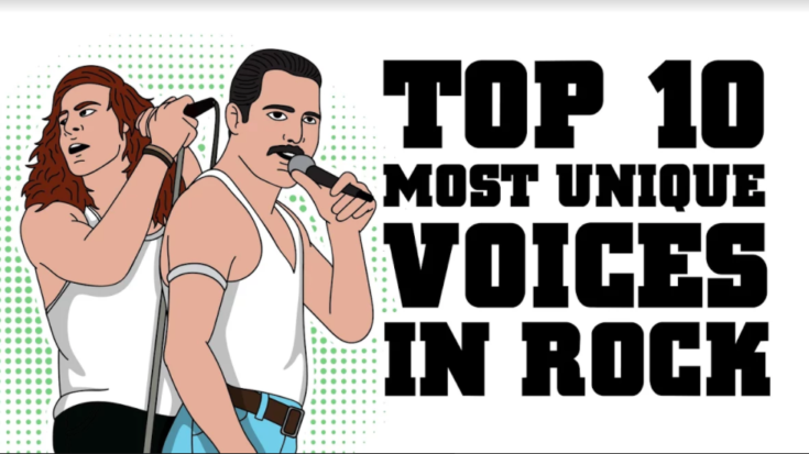 Top 10 Most Unique Voices in Rock | I Love Classic Rock Videos