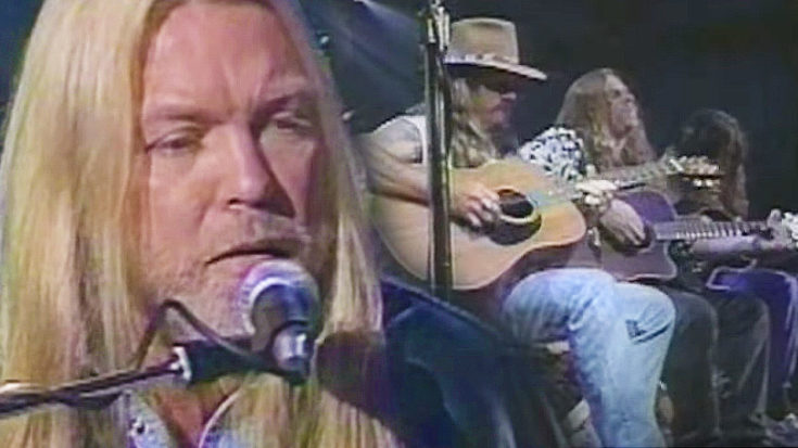 "Gregg Allman And Dickey Betts Play ""Melissa"" Live, And It's Pure Magic 
