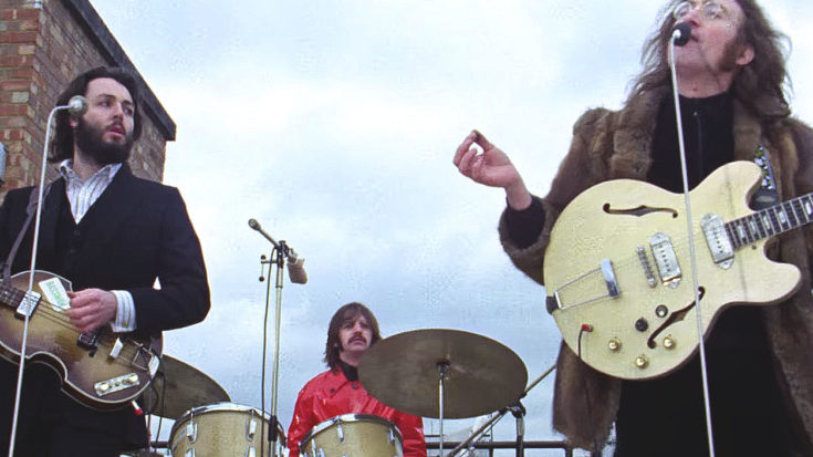 Image result for beatles rooftop
