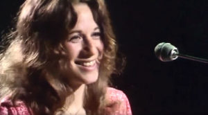 """70s Siren Carole King Charms With Ultra-Sassy Breakup Anthem, """"It's Too Late"""""""