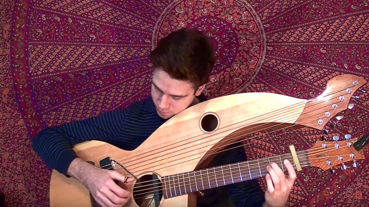 "Ozzy Osbourne's ""Mama, I'm Coming Home"" Is Reimagined On A Harp-Guitar And It's Mesmerizing 