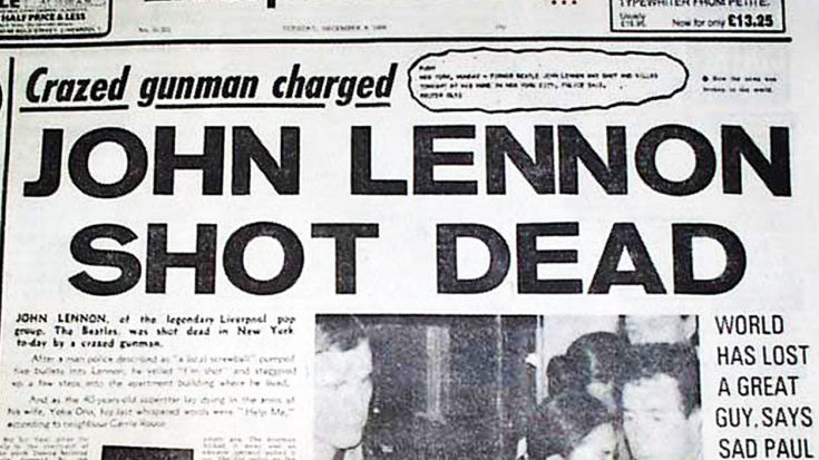 37 Years Ago: John Lennon Dies, And The World Loses A Beacon Of Peace & Love | I Love Classic Rock Videos
