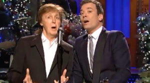 Paul McCartney And Jimmy Fallon Spread Holiday Cheer With Sugary Sweet 'Wonderful Christmastime'