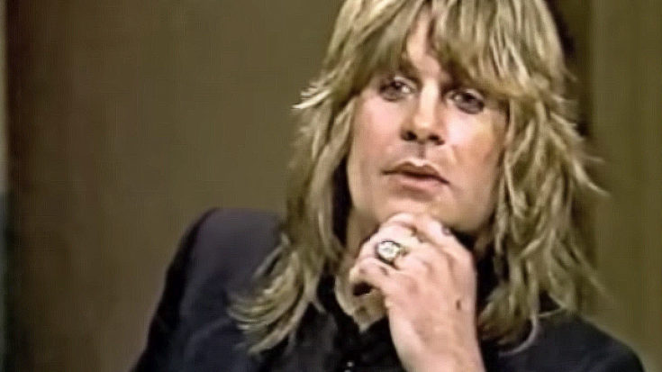 A Heartbroken Ozzy Osbourne Gives His First Interview Following The Death Of Randy Rhoads | I Love Classic Rock Videos
