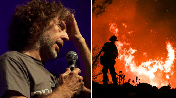 Veteran Rock Drummer's Home 'Destroyed' In Ventura County Fires | I Love Classic Rock Videos