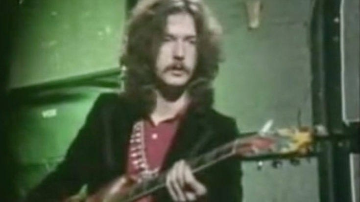 Watch A 23-Year Old Eric Clapton Explain His Guitar Technique | I Love Classic Rock Videos