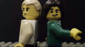 This Shot-For-Shot Lego Remake Of Bowie And Jagger's 'Dancing In the Street' Video Is Scary Accurate