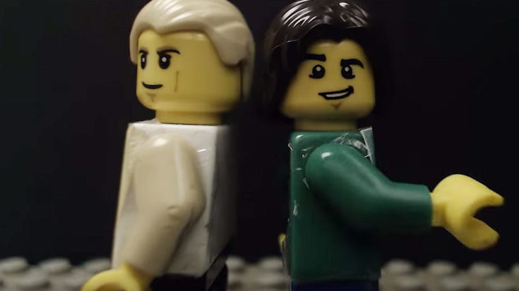 This Shot-For-Shot Lego Remake Of Bowie And Jagger's 'Dancing In the Street' Video Is Scary Accurate | I Love Classic Rock Videos