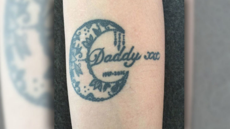 Late Rocker's Teen Daughter Shows Off New Tattoo In Honor Of Dad's Passing | I Love Classic Rock Videos