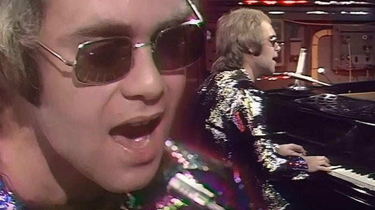 "24-Year-Old Elton John Plays ""Tiny Dancer"" For The First Time, And It's Pure Magic 