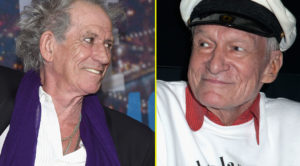 Flashback To Keith Richards And The Ultra Cheeky Tribute To Hugh Hefner That Made Twitter Crack Up