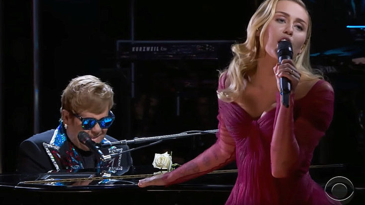 Elton John And Miley Cyrus' Grammy Awards Duet Is The Performance No One Can Stop Talking About | I Love Classic Rock Videos