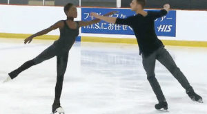 You Absolutely HAVE To See The 'Sound Of Silence' Routine These Skaters Delighted The Internet With