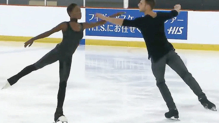 You Absolutely HAVE To See The 'Sound Of Silence' Routine These Skaters Delighted The Internet With | I Love Classic Rock Videos