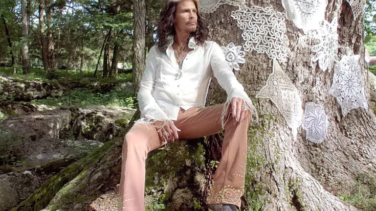 Steven Tyler Released A Track That Is Perfect For Valentine's Day