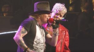 "P!nk Joins Axl Rose To Help Sing ""Patience"" And Their Chemistry Is Off The Charts"