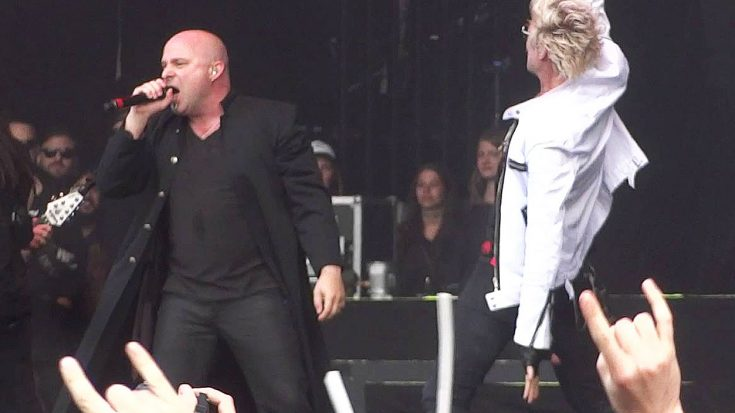 "Disturbed Steal The Show With Epic Cover Of Mötley Crüe's ""Shout At The Devil"" 
