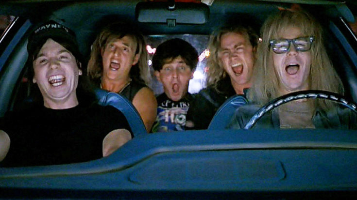 Wayne's World's Iconic 'Bohemian Rhapsody' Scene Still Rocks Hard After 26 Years – Party On! | I Love Classic Rock Videos