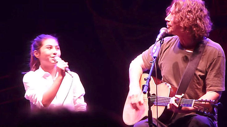 "Nothing Says 'I Love You' Like Chris Cornell's ""Redemption Song"" Duet With His Daughter, Toni 