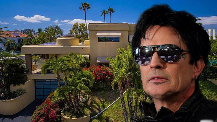 Step Inside Tommy Lee's Luxurious Home That Just Went Up For Sale | I Love Classic Rock Videos