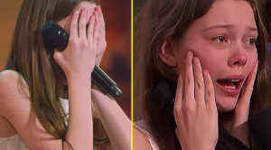 Painfully Shy Girl Sings Otis Redding On Live TV – Can't Stop Crying Over One Judge's Reaction