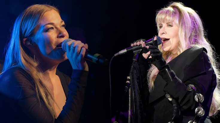 "LeAnn Rimes Joins Fleetwood Mac's Stevie Nicks For Heartbreaking New Duet, ""Borrowed"" 