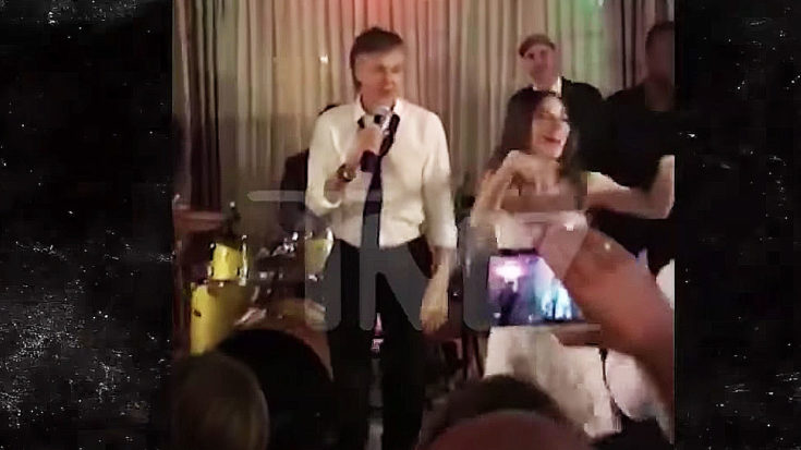 Birthday Boy Paul McCartney Crashes Wedding, Turns Reception Into Epic Beatles Dance Party | I Love Classic Rock Videos