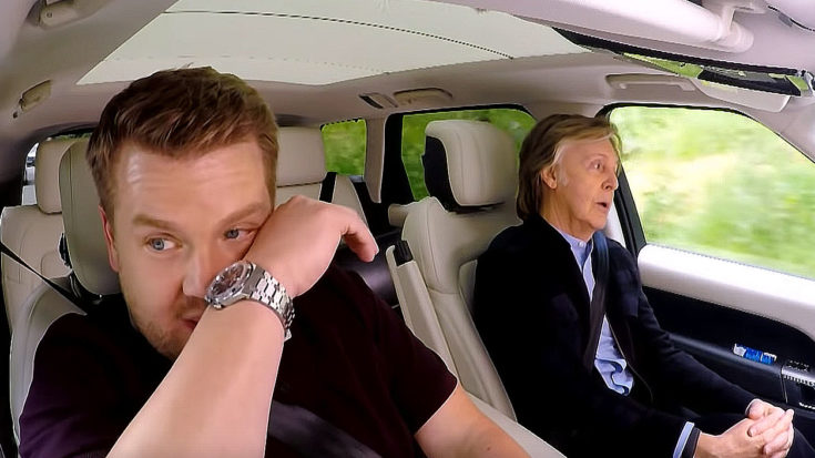 "Paul McCartney Brings James Corden To Tears With Emotional Story Of How ""Let It Be"" Was Written 