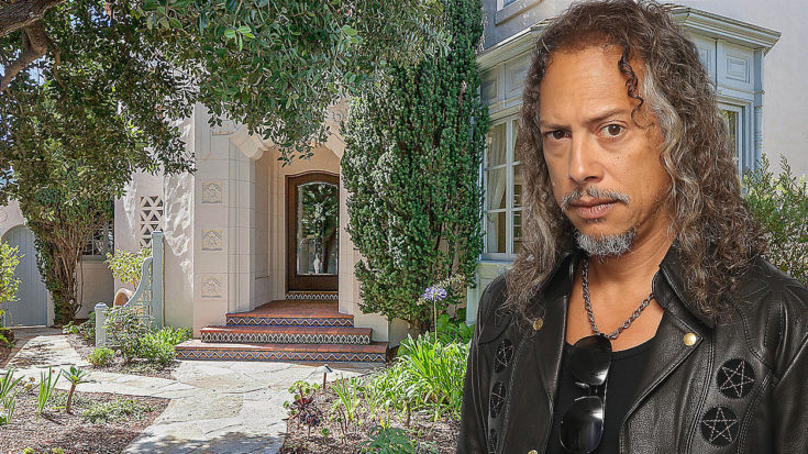 Kirk Hammett's Lovely Home On The Cliffs Is For Sale And The Photos Will Make You Jealous | I Love Classic Rock Videos