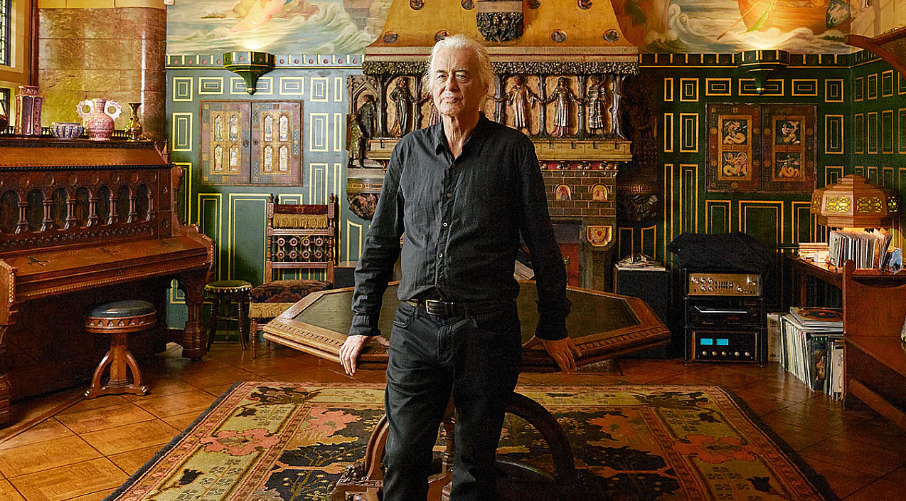 Yes Jimmy Page S House Is A Castle And Yes You Gotta