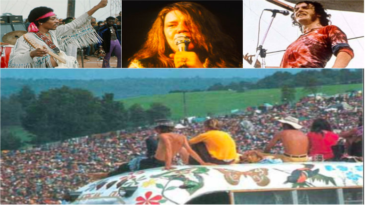 30 Epic Woodstock 69′ Moments — Brings You Back | I Love Classic Rock Videos