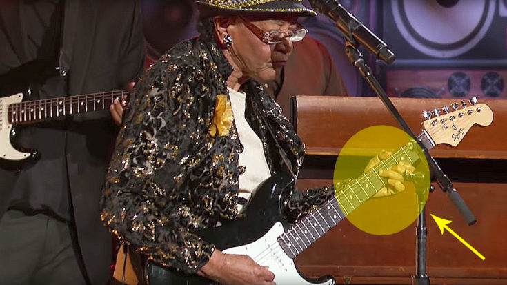 78-Year-Old Blues Granny Shreds Guitar On Live TV, But Keep An Eye On Her Hands | I Love Classic Rock Videos