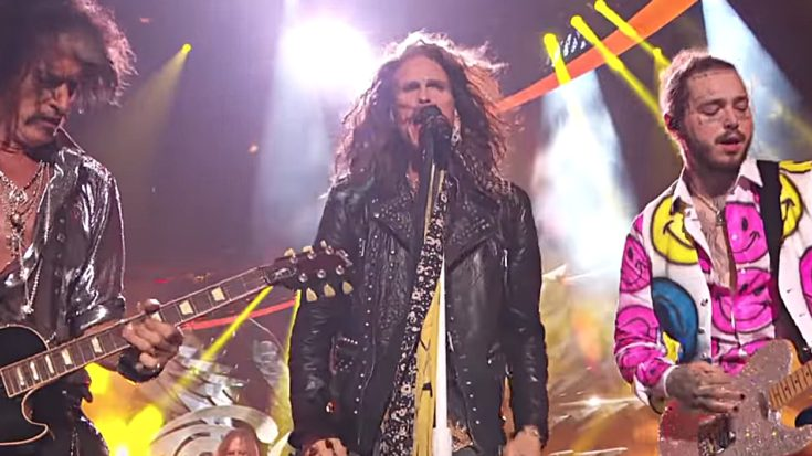 "Aerosmith Crash The VMAs And Tear The House Down With ""Dream On"" & ""Toys In The Attic"" 