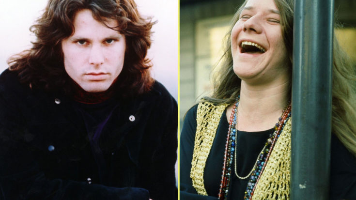 Ever Heard The Story Of The Time Janis Joplin Knocked Jim Morrison Out Cold? You're About To! | I Love Classic Rock Videos