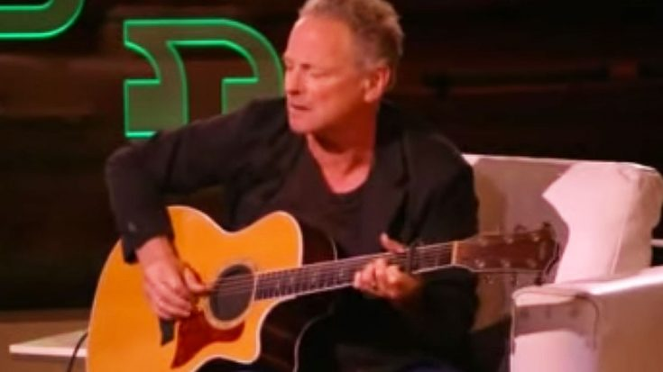 You Give Lindsey Buckingham 4 Minutes With A Guitar On TV And This Is What He'll Do… | I Love Classic Rock Videos