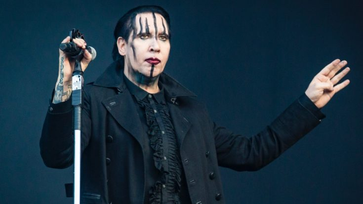 Marilyn Manson Stops Show Early After Collapsing On Stage | I Love Classic Rock Videos