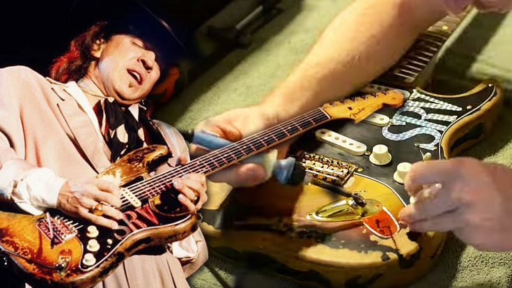 This Guy Completely Recreates Stevie Ray Vaughan's Signature Guitar Down To The Very Last Detail | I Love Classic Rock Videos