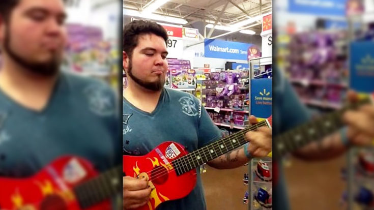 Walmart Shopper Picks Up Toy Guitar – What Happened Next Made Him An Overnight Celebrity | I Love Classic Rock Videos
