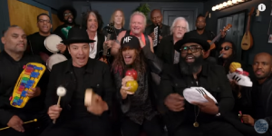 "Jimmy Fallon and Steven Tyler – ""Walk This Way"" With The Roots"