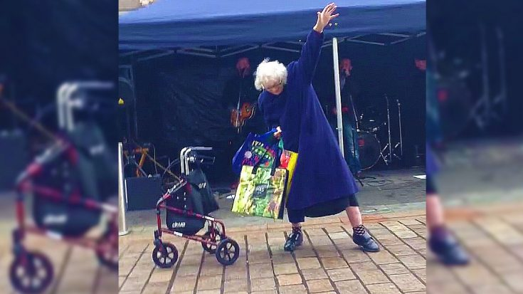 """Granny Hears AC/DC's """"Highway To Hell"""" – Busts Out Some Pretty Sweet Dance Moves   I Love Classic Rock Videos"""