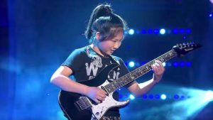 12-Year-Old Girl Can Melt Faces With Guitar Shredding Skills – This Girl Is From Another Planet