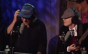 "Howard Stern Hosts AC/DC for Stripped ""You Shook Me All Night Long"" So good!"