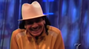 "Santana Gets Giddy Over 7 Year Old's ""Samba Pa Ti"" Performance"