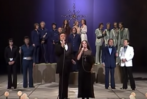 "Roy Orbison and All Star Choir Sing ""Silent Night"" On The Johnny Cash Christmas Special"