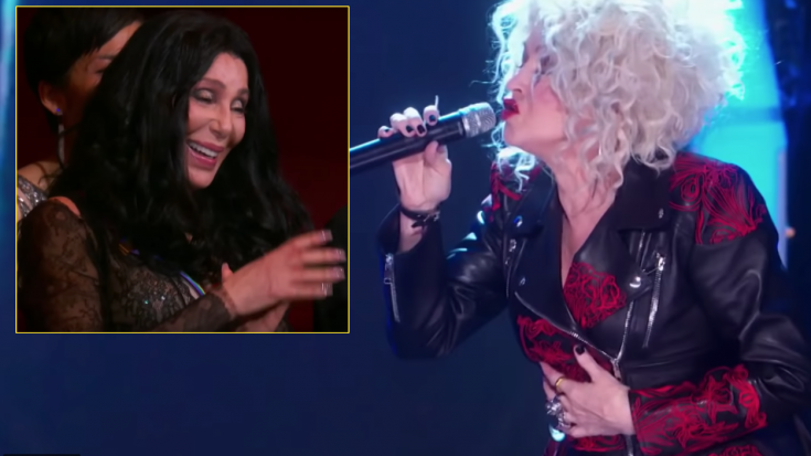 "Cyndi Lauper Turns Back Time For One Hell Of A ""If I Could Turn Back Time"" Tribute To Cher 