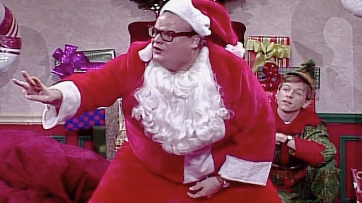 Things Get Awkward (And Hilarious) When Chris Farley's 'Motivational Santa' Comes Crashing Into Town | I Love Classic Rock Videos